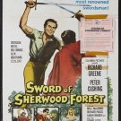 Sword Of Sherwood Forest ( 1960) - Peter Cushing DVD
