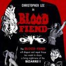 Blood Fiend AKA Theatre Of Death (1967) - Christopher Lee DVD