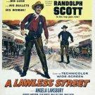 A Lawless Street (1955) - Randolph Scott DVD