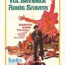 Adios Sabata (1971) - Yul Brynner DVD