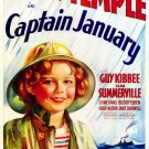 Captain January (1936) - Shirley Temple Color Version DVD