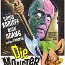 Die Monster Die ! (1965) - Boris Karloff DVD
