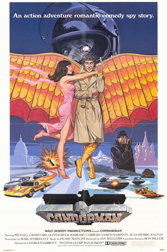 Condorman (1981) - Oliver Reed DVD