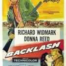 Backlash (1956) - Richard Widmark DVD