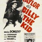 Billy The Kid (1941) - Robert Taylor DVD