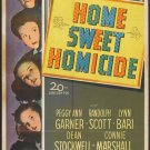 Home Sweet Homicide (1946) - Randolph Scott DVD