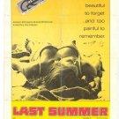 Last Summer AKA Petting (1969) - Barbara Hershey DVD