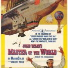 Master Of The World (1961) - Vincent Price DVD
