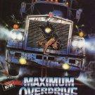 Maximum Overdrive (1986) - Stephen King DVD