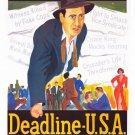 Deadline - U.S.A. (1952) - Humphrey Bogart DVD