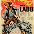 Branded (1950) - Alan Ladd DVD