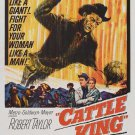 Cattle King (1963) - Robert Taylor DVD