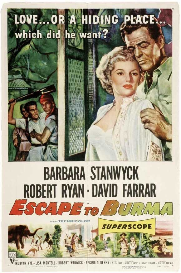 Escape To Burma (1955) - Barbara Stanwyck DVD