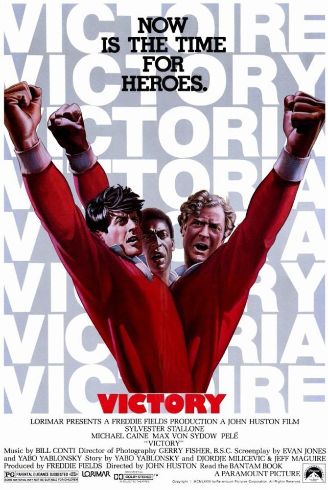 Escape To Victory (1981) - Sylvester Stallone DVD