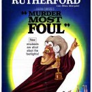 Miss Marple : Murder Most Foul (1964) - Margaret Rutherford DVD
