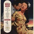 Sayonara (1957) - Marlon Brando DVD