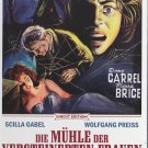 Mill Of The Stone Women (1960) - Pierre Brice UNCUT DVD