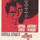 Five Miles To Midnight (1962) - Sophia Loren DVD
