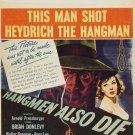 Hangmen Also Die (1943) - Fritz Lang DVD