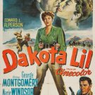 Dakota Lil (1950) - George Montgomery DVD