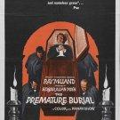 Premature Burial (1962) - Ray Milland DVD