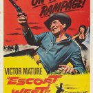 Escort West (1959) - Victor Mature DVD