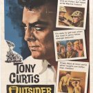 The Outsider (1961) - Tony Curtis DVD