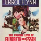 The Private Lives Of Essex And Elizabeth (1939) - Errol Flynn DVD