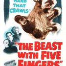The Beast With Five Fingers (1946) - Peter Lorre DVD