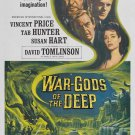 War-Gods Of The Deep (1965) - Vincent Price DVD