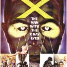 X- The Man With X-Ray Eyes (1963) - Ray Milland DVD