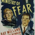 Ministry Of Fear (1944) - Ray Milland DVD