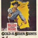 Gold Of The Seven Saints (1961) - Clint Walker DVD