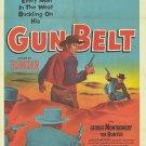 Gun Belt (1953) - George Montgomery DVD
