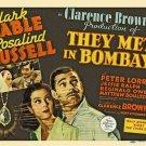 They Met In Bombay (1941) - Clark Gable DVD