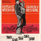 Two For The Seesaw (1962) - Robert Mitchum DVD