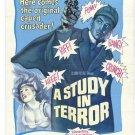 Sherlock Holmes : A Study In Terror (1965) - John Neville DVD