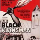 The Black Klansman (1966) DVD