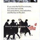 The Kremlin Letter (1970) - Richard Boone DVD