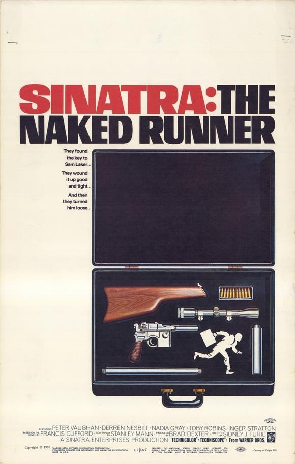 The Naked Runner (1967) - Frank Sinatra DVD