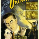 The Uninvited (1944) - Ray Milland DVD