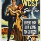 Horizons West (1952) - Rock Hudson DVD