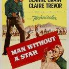 Man Without A Star (1955) - Kirk Douglas DVD