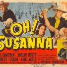 Oh ! Susanna (1951) - Rod Cameron DVD