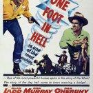 One Foot In Hell (1960) - Alan Ladd DVD