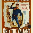 Only The Valiant (1951) - Gregory Peck DVD