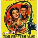 Passion (1954) - Cornel Wilde DVD