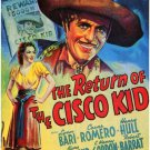 Return Of The Cisco Kid (1939) - Warner Baxter DVD