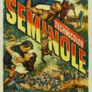 Seminole (1953) - Rock Hudson DVD