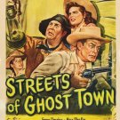 Streets Of Ghost Town (1950) - Charles Starrett DVD